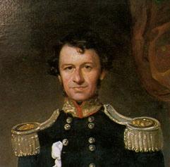 Portrait painting of Charles Joseph La Trobe
