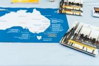 """Ein Foto von Broschüren mit dem Titel """"Why Australia"""""""